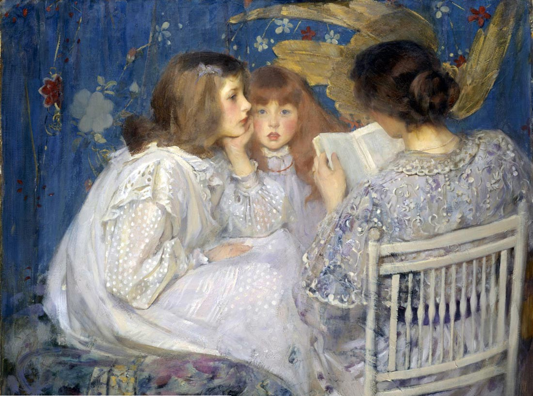 Contes de la Jungle (also known as Jungle Tales), Sir James Jebusa Shannon - 1895